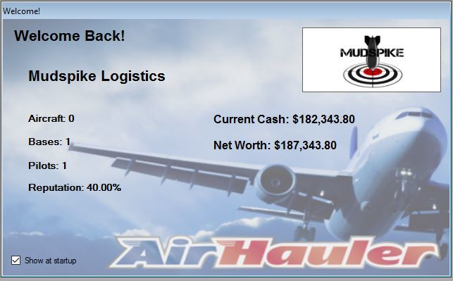 Mudspike Logistics - Diary of a Cargo Pilot - Screens & AARs