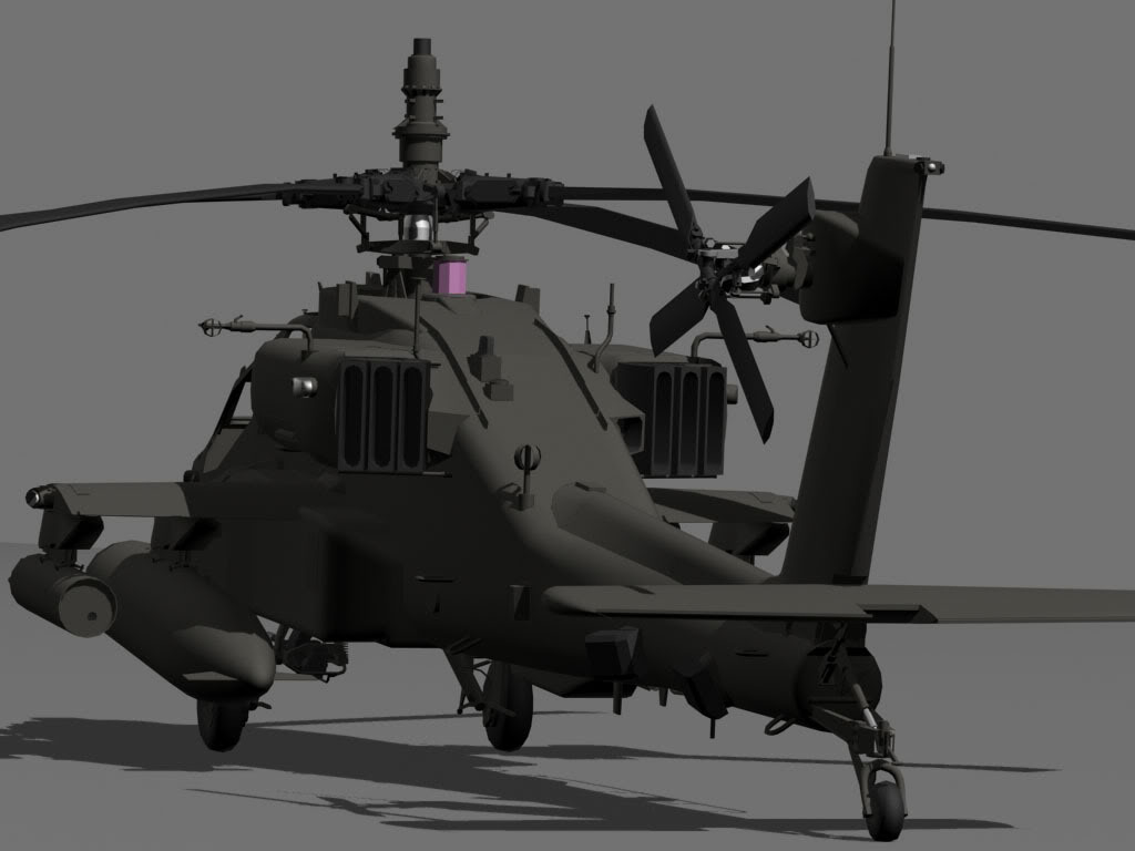 5 Years in Review: Building the AH-64D for ArmA - Screens