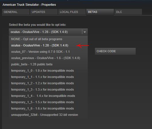 Running ETS2 or American Truck Simulator in VR for Rift
