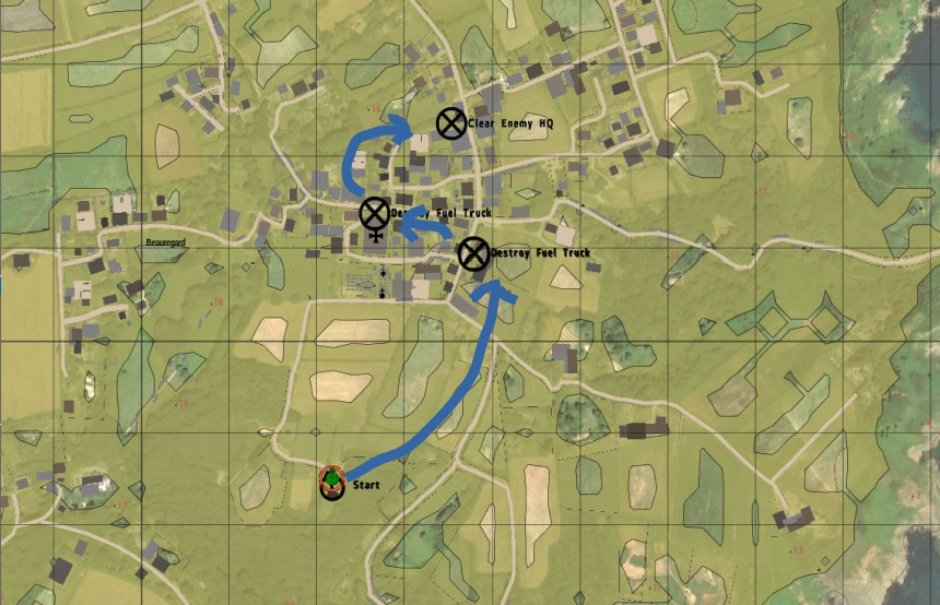 The Sark Raid (ARMA 3) - Screens & AARs - Mudspike Forums